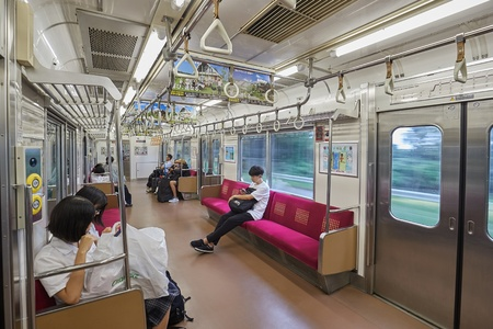 Local Train in Japan