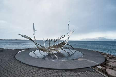 The Sun Voyager, Reykjavik, Iceland Editorial