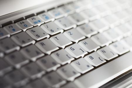 White Keyboard Detail