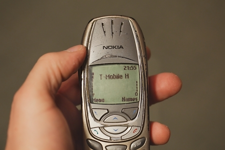 Old Nokia mobile phone Editorial