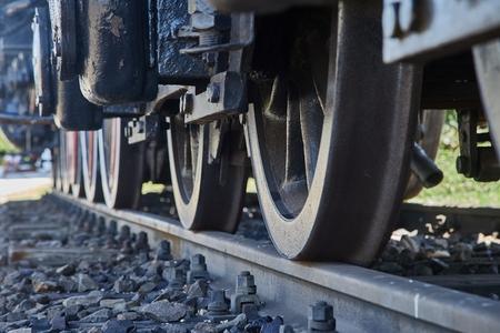 Steam Locomotive Detail Banque d'images