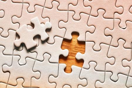 Fond de puzzle, presque terminé