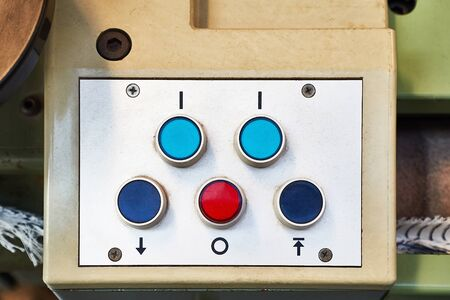 Industrial button board switches