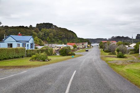 Traveling in Oban, Rakiura, New Zealand