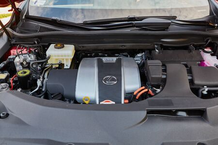 Car Engine Bay