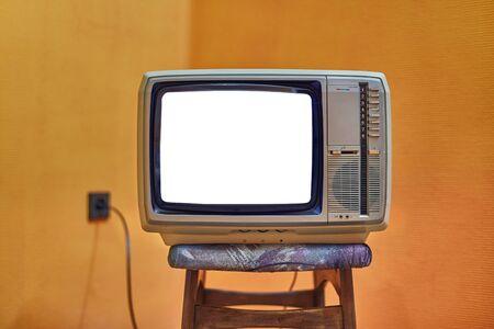 Viejo televisor sin señal