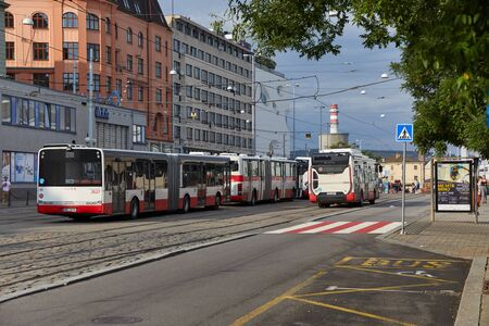 Public buses in Brno