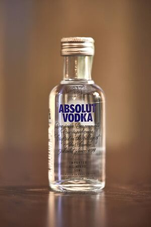 Absolut Vodka small bottle