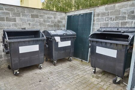Dumpster garbage bin containers