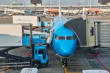 Aircraft Ground Handling, KLM catering services