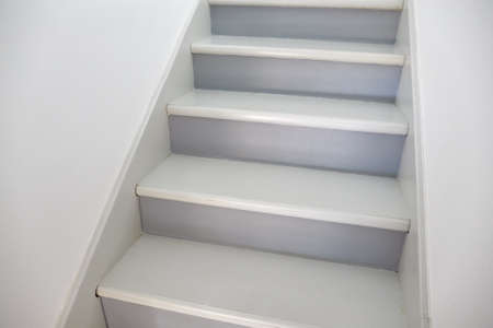 Stairs in a house Standard-Bild
