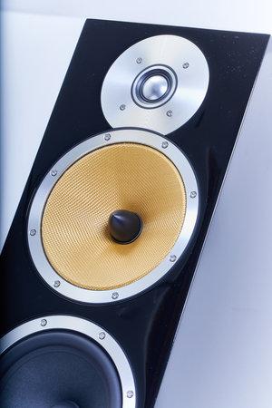 Hi-fi speaker top detail Stockfoto