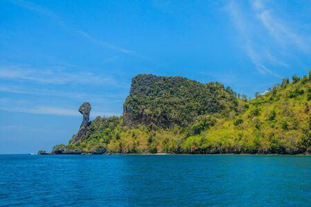 railey: Koh Kai isola sul mare delle Andamane, Krabi, Tailandia Archivio Fotografico