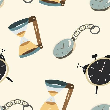 clock seamless Vector