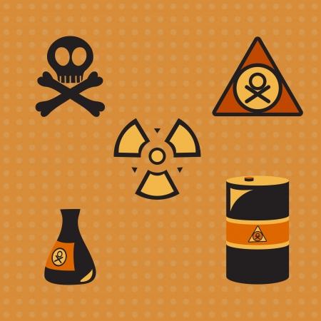 oxidising: Biohazard silhouette