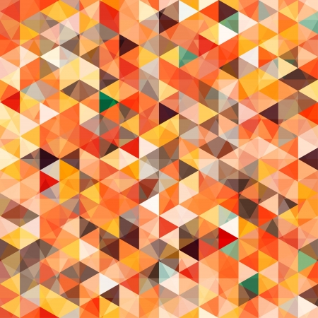 mosaic pattern: abstract triangle seamless Illustration