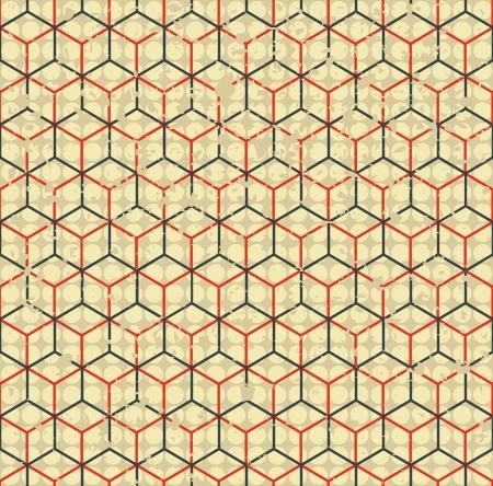 diamond shaped: grunge cell simless