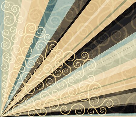 fete: abstract line background Illustration