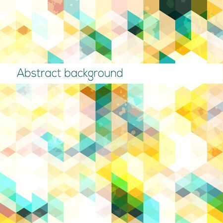 diamond shaped: abstract triangle background
