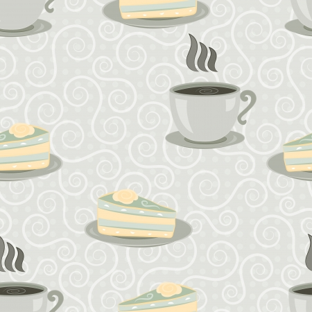 cup seamless Vector
