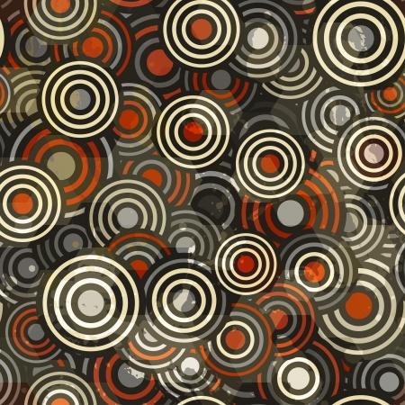 abstract circle seamless Stock Vector - 16665060