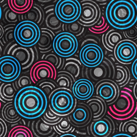 abstract grunge circle seamless Vector