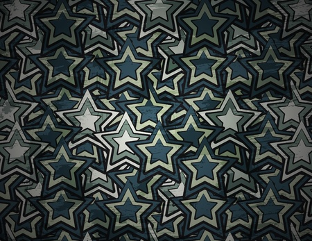 abstract grunge star background Vector