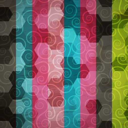 abstract spiral pattern Vector