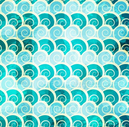 abstract spiral seamless pattern Stock Vector - 16664955
