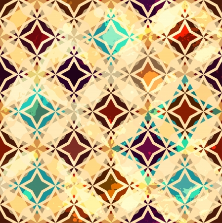 abstract vintage star seamless Stock Vector - 16665015