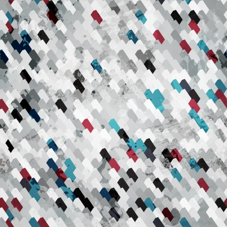 black grunge seamless pattern