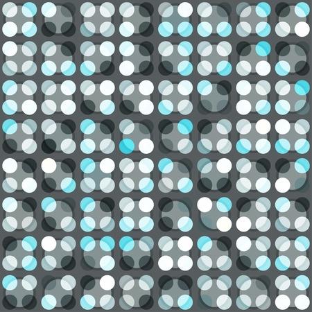blue circle seamless pattern Stock Vector - 16664969