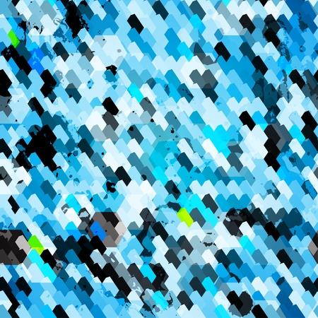 blue grunge seamless pattern Stock Vector - 16665190