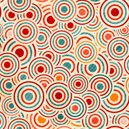 color circle pattern Vector
