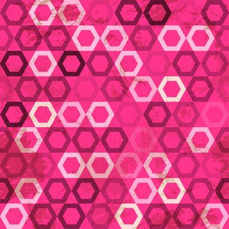 pink cell: grunge celular de color rosa transparente Vectores