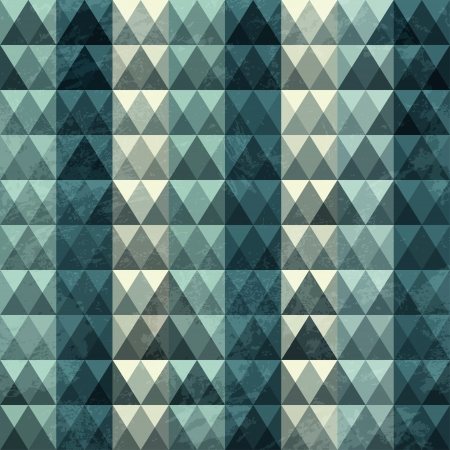triangle blue pattern seamless Vector