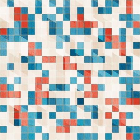 alhambra: abstract ceramic seamless texture Illustration