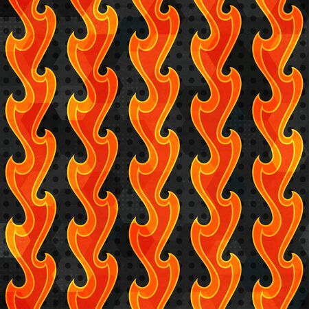 abstract fire seamless Stock Vector - 17621591