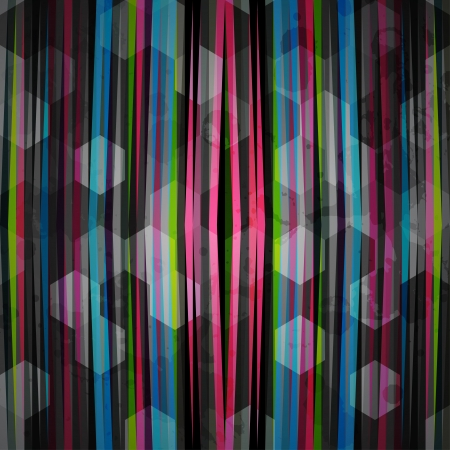 emitting: abstract neon pattern Illustration