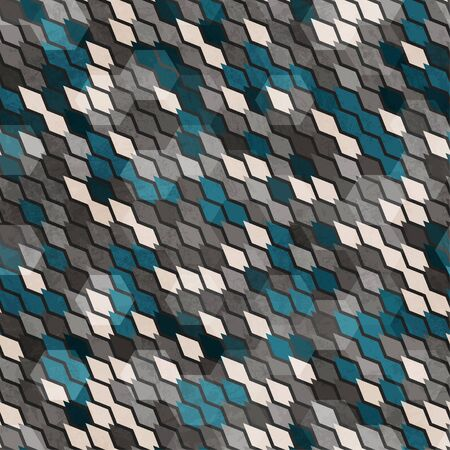 snakeskin: abstract scales seamless pattern