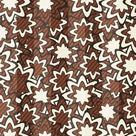 abstract star seamless Stock Vector - 17621485