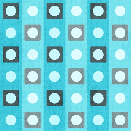 blue geometric seamless pattern Stock Vector - 17621461