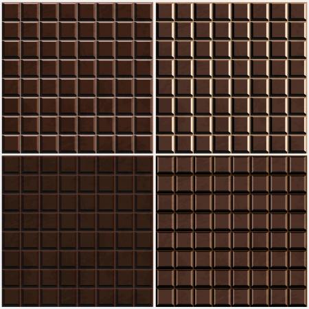 caramelos navidad: chocolate endurecido fondo sin fisuras