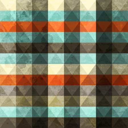 vintage grunge triangle seamless Stock Vector - 17621600