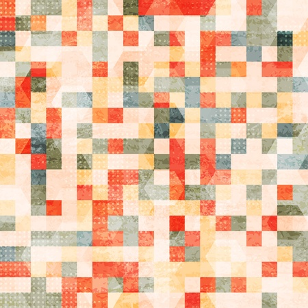 vintage squares seamless Stock Vector - 17616936