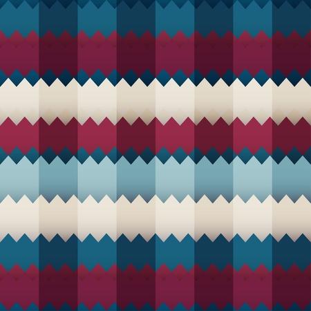 pop art herringbone pattern: zigzag colored seamless
