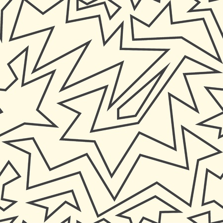 swastika: monochrome ancient seamless pattern Illustration