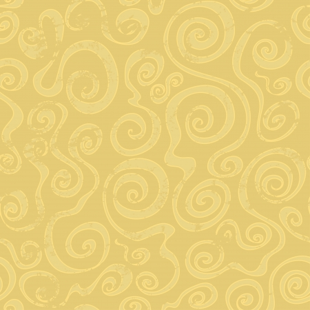 abstract sand spiral seamless pattern Vector