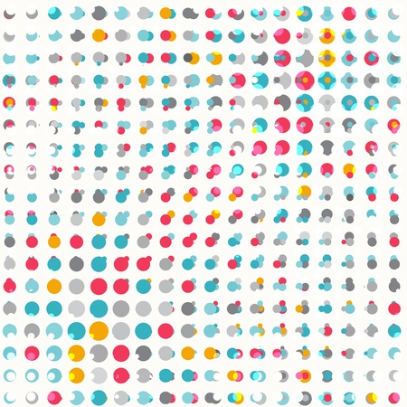 colored point seamless texture Stock Vector - 19280024