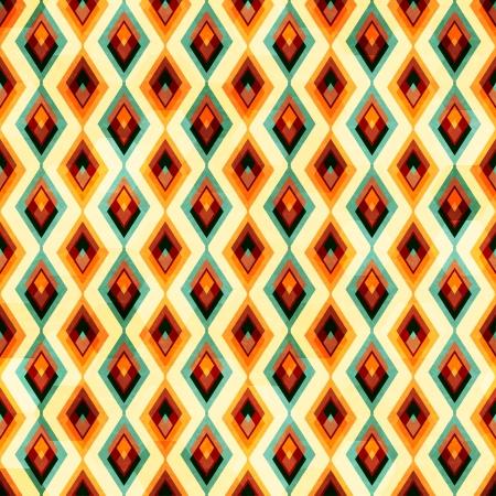 vintage diamond seamless pattern Vector
